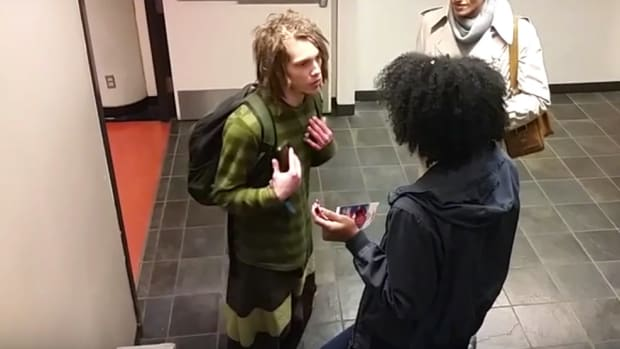 Black And White Students Argue Over Dreadlocks (Video) Promo Image