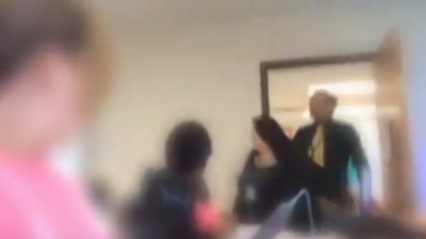 Teacher Yells At Student For Reporting Porn (Video) Promo Image