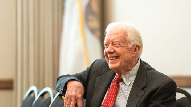 Jimmy Carter: No Need For Cancer Treatment Promo Image