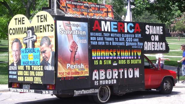 Anti-Abortion Truck