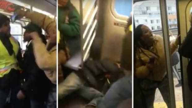 Bronx Subway Beating