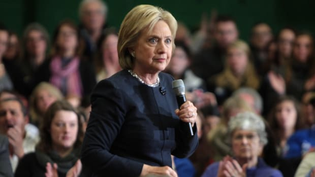 Poll: Americans Divided On Clinton's Nomination Promo Image