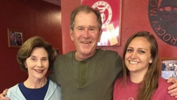 Waitress' George W. Bush Tweet Sparks Controversy (Photo) Promo Image