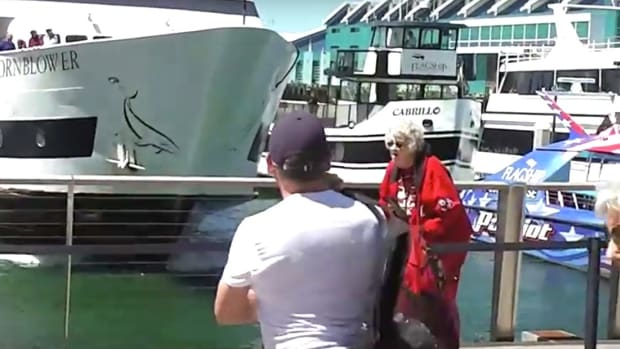 Whale-Watching Ship Crashes In San Diego (Video) Promo Image