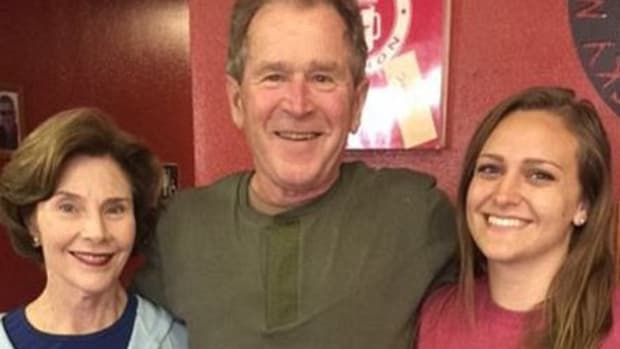 Waitress Slammed For Tasteless George W. Bush Tweet  Promo Image