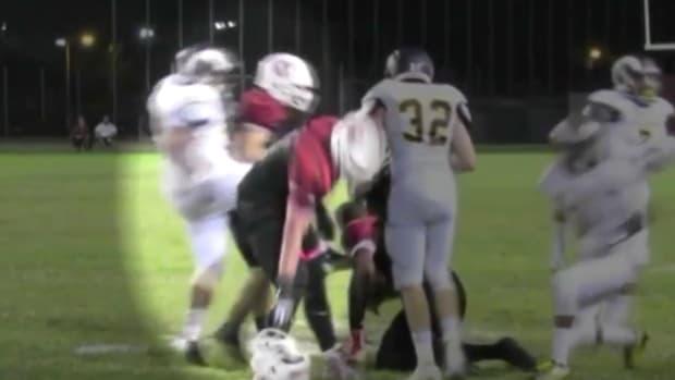 High School Football Fight