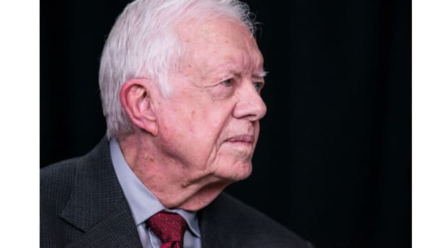 Jimmy Carter: Trump Capitalizing On Racism In America Promo Image