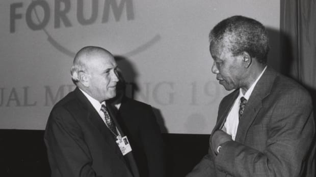 CIA Agent Admits Role In Nelson Mandela's Imprisonment  Promo Image