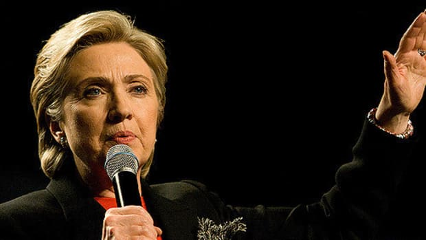 Hillary Clinton Promises To Look Into UFO's Promo Image