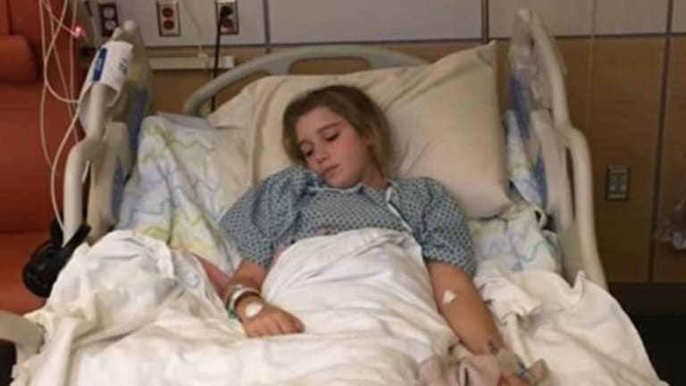 Teen Girl, Cindy Redmond, Punished For Using Cellphone At The Table And Is Left With Painful Permanent Damage