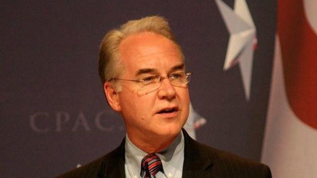 Health Secretary Defends GOP Health Care Bill Over ACA Promo Image