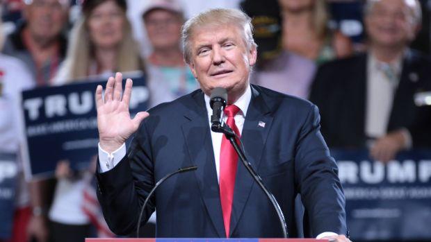 Trump 'Congratulates' Soldier For Earning Purple Heart (Video) Promo Image