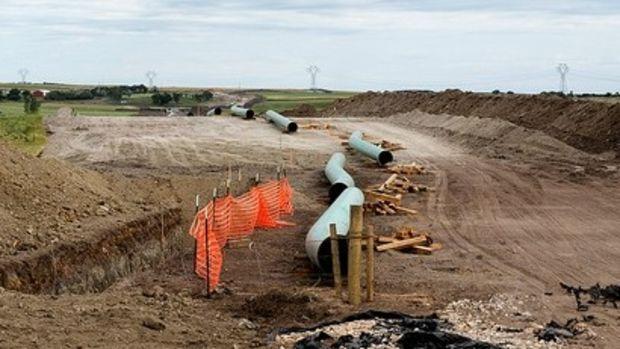 Trump Restarts Keystone Pipeline, Protesters Vow Fight Promo Image