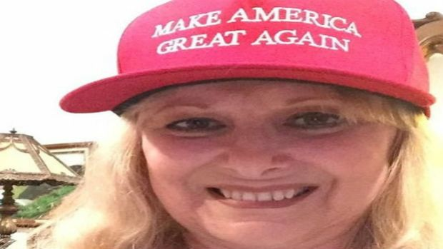 Woman Says Restaurant Threw Her Out Over Trump Hat Promo Image