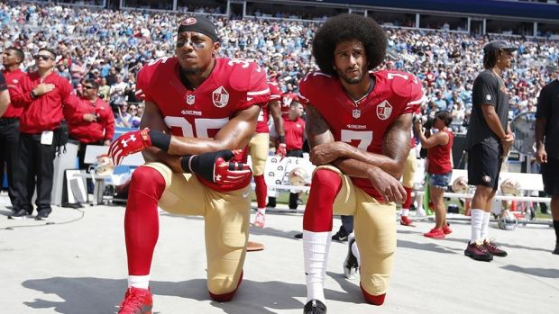 NFL Ratings Slip Amid National Anthem Protest Promo Image