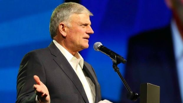 Franklin Graham Calls Out 'Religious Cleansing' Promo Image