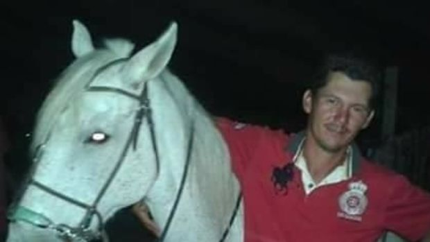 Horse Gives Final Farewell To Dead Owner (Video) Promo Image