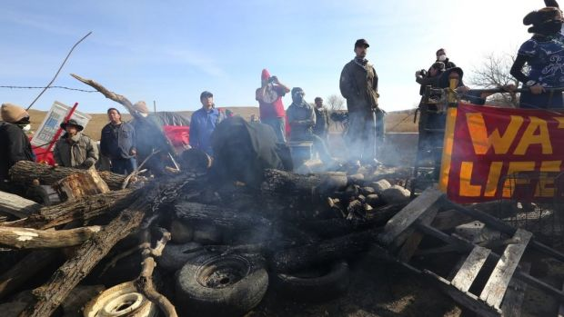 141 Arrested, Cars Ablaze In ND Pipeline Protests Promo Image