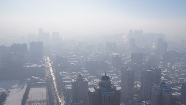 China Passes New Pollution Law As Smog Chokes Cities Promo Image