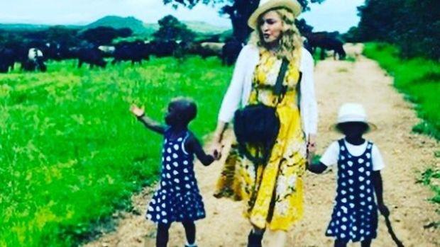 Madonna Looks 'Creepy' In Instagram Clip (Video) Promo Image