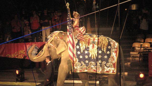Ringling Bros. Circus Prepares For Final Performance Promo Image