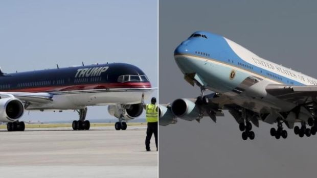 Donald Trump May Not Want Air Force One Promo Image