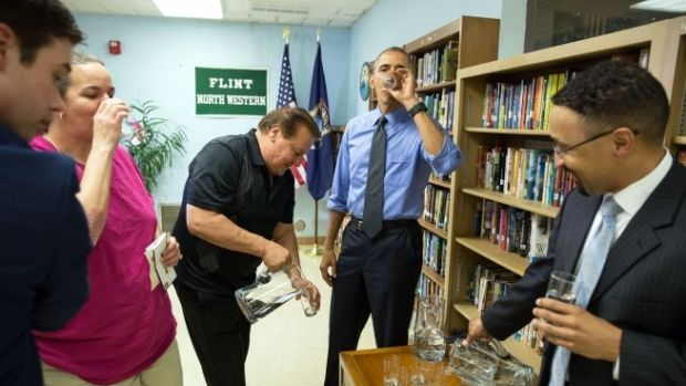 Officials Charged With Felonies In Flint Water Investigation Promo Image