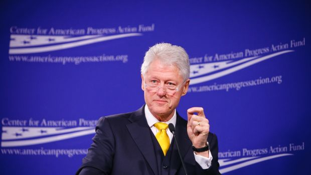 Bill Clinton Calls Hillary 'The Best Darn Change-Maker' Promo Image