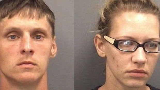 Couple Arrested For Injecting Heroin With Baby In Car Promo Image