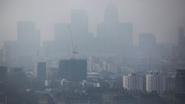 High London Pollution Levels May Be Harmful To Babies Promo Image