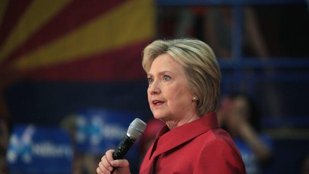 Roseanne Barr Criticizes Hillary Clinton Promo Image