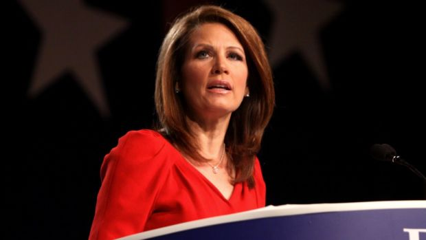 Michele Bachmann: Trump Is A 'Man Of Prayer' (Video) Promo Image