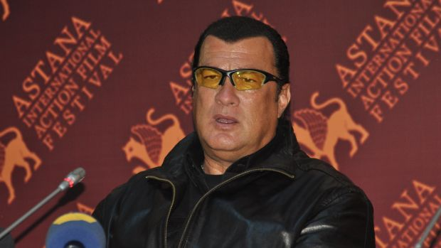 Steven Seagal Accused Of Raping An 18-Year-Old In 1993 Promo Image