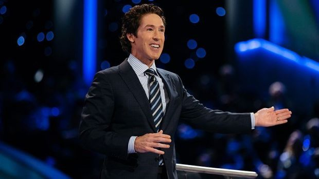 Joel Osteen Slammed For Closing Church During Storm (Photos) Promo Image