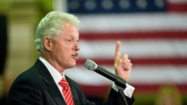 Bill Clinton Is Asked About Monica Lewinsky (Video) Promo Image