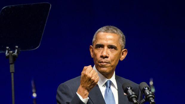 Obama Calls For 'Common-Sense Gun Safety Laws' Promo Image