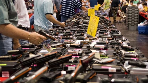 Poll: Majority Supports Background Checks For Gun Sales Promo Image