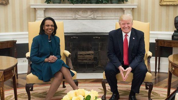 Condoleeza Rice's 'Me Too' Comments Spark Controversy Promo Image