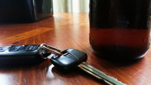 Actress Lara Flynn Boyle Drinks Whiskey In Car (Photos) Promo Image