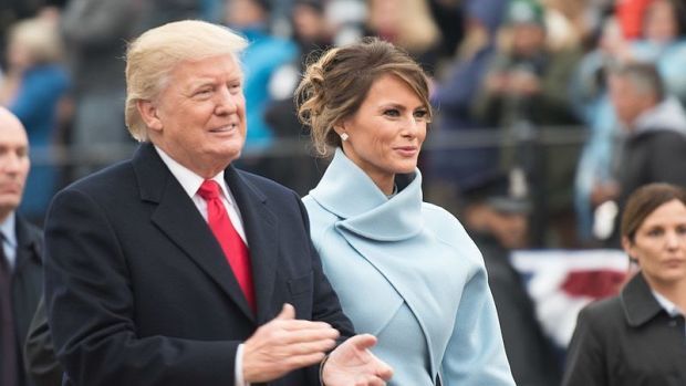 Melania Trump Leaves White House Without Donald Trump (Video) Promo Image