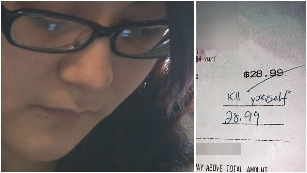 Georgia Waitress Gets Nasty Note Instead Of Tip (Photo) Promo Image