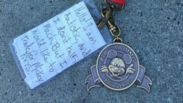Search To Find Disney Lanyard Owner Goes Viral (Photo) Promo Image