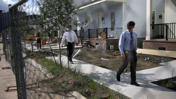 New Orleans Crime Scene.