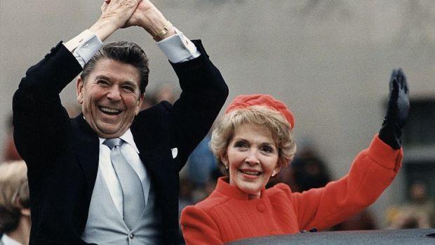 Former President Ronald Reagan.