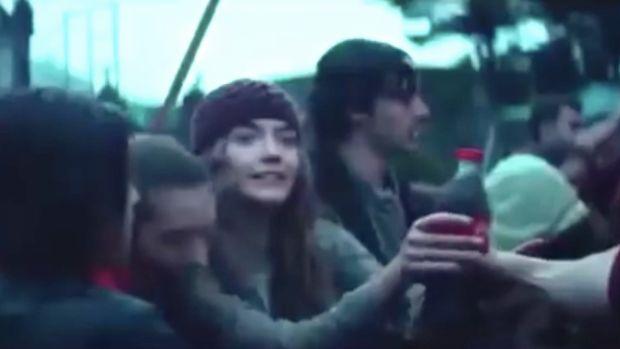 Clip from the Coca-Cola ad