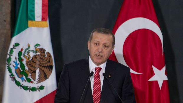 Erdogan Visits U.S., Slams Anti-Muslim Rhetoric Promo Image