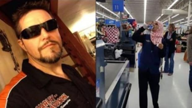 Man Sees Walmart Disrespecting Vet, Then Notices What Muslim Woman Is Doing Promo Image