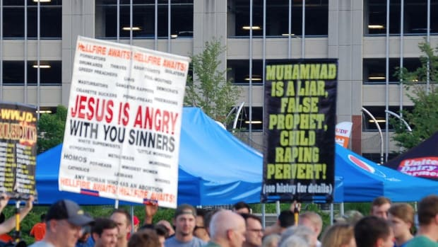 Upcoming Anti-Sharia Law Rallies Worry Muslim Leaders Promo Image