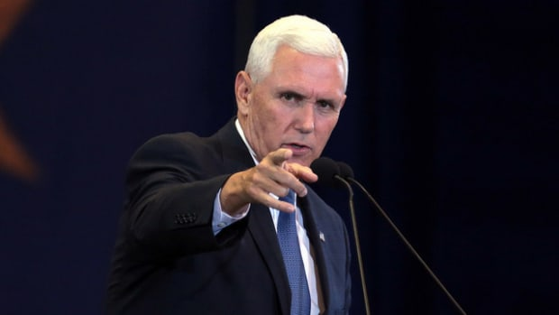Mike Pence: 'Police Officers Are The Best Of Us' Promo Image
