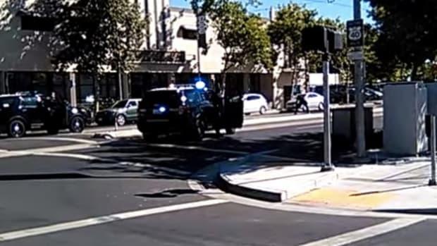 Caught On Camera: Police Shoot Mentally Ill Black Man (Video) Promo Image